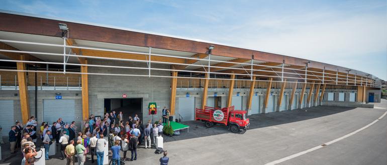 Inauguration de l'entrepôt C du Marché Matinal