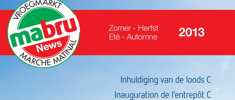 "Mabru news ""Eté -Automne 2013"""