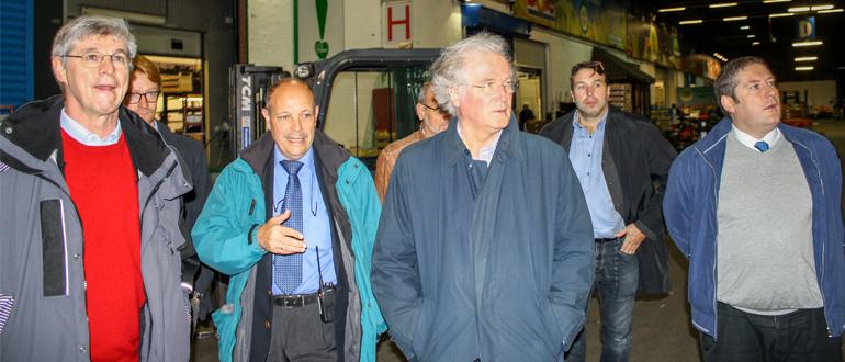 Visite du ministre Didier Gosuin