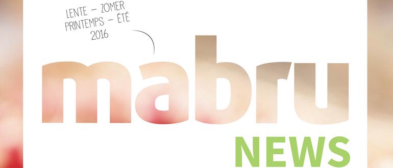 De Mabru News Lente-Zomer 2016 is uit