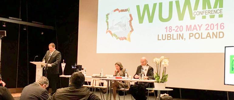 Laurent Nys élu membre du comité directeur du WUWM