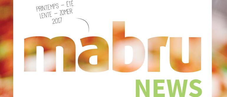 De Mabru News Lente – Zomer 2017 is uit