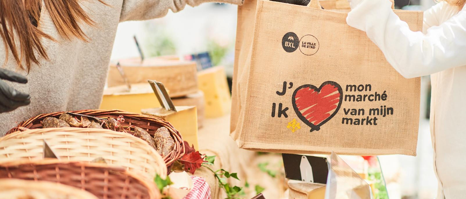 Campagne « Ik hou van mijn markt 2018 »