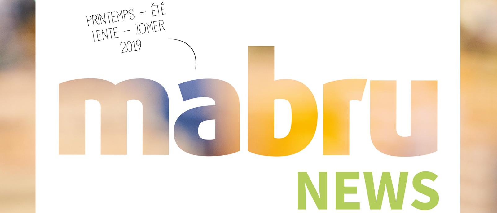 De Mabru News Lente-Zomer 2019 is uit