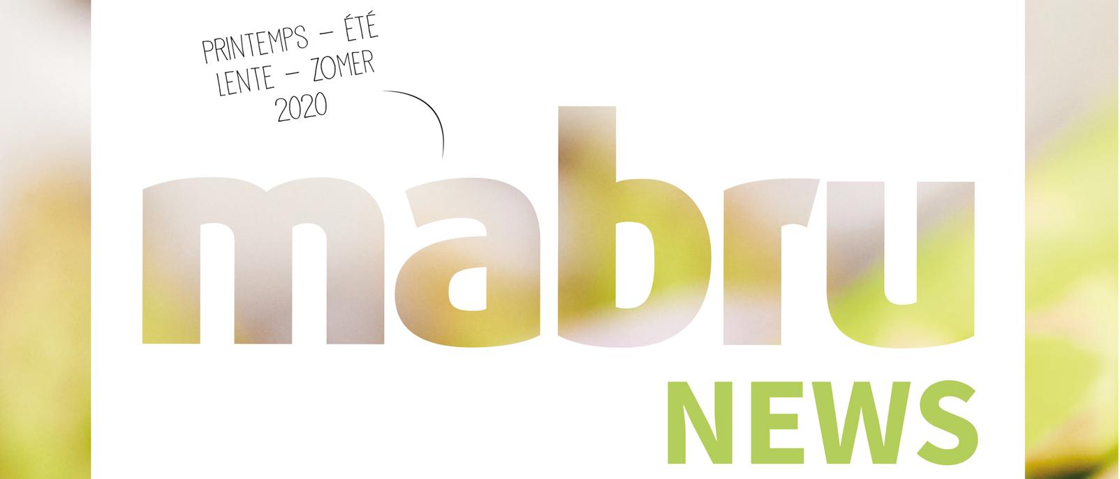 Découvrez le Mabru News Printemps-Eté 2020