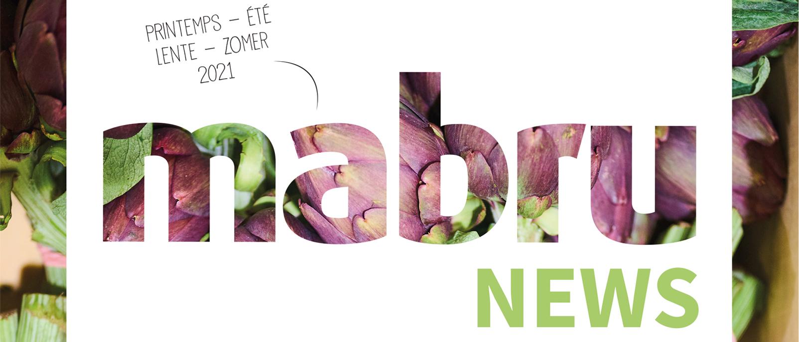 Découvrez le Mabru News Printemps-Été 2021